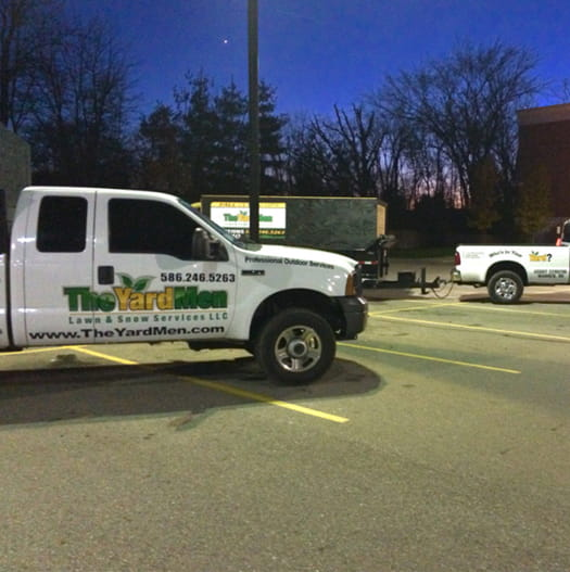 Learn more about The Yard Men Services - commercial-page-truck-content-image
